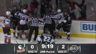 Ontario Reign vs. San Diego Gulls - 10/15/16