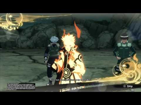NARUTO SHIPPUDEN™: Ultimate Ninja® STORM 4 Naruto VS Obito Story battle (Masked Man) S Rank