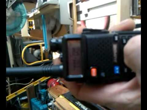 My new baofeng uv-5r Ham radio. Nice unit,