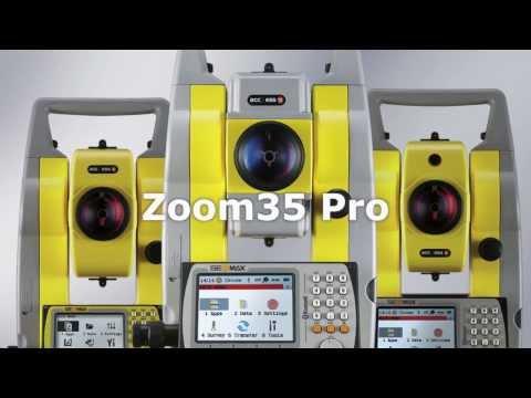 Серия тахеометров GeoMax  Zoom Pro