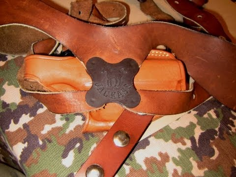 Galco / Jackass Miami classic Shoulder Holster Sweetness