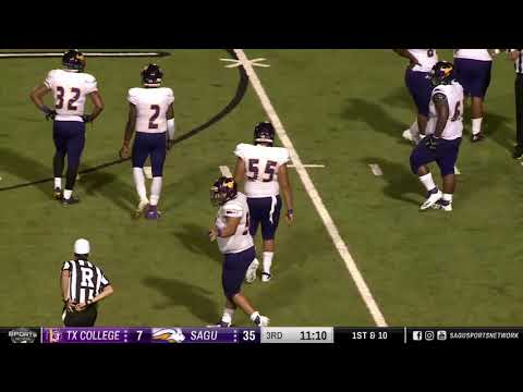 Texas College vs SAGU (Second Half) » NAIA Football 2018