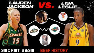 Lauren Jackson ripping Lisa Leslie's hair out heated up a decade-long beef. Was it intentional?