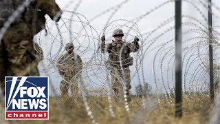 US troops fortify the southern border