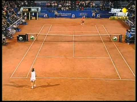 Schiavone vs Serena Williams highlights WTA Rome 2005