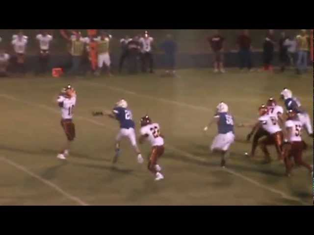 8-31-12 - Mitch Tormohlen finds Randy Baker for a 29 yard score (Brush 21, Wray 15)