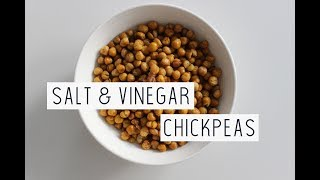 SALT & VINEGAR CHICKPEAS | Vegan Recipe