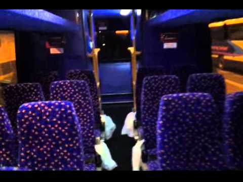 Megabus sleeper service tour