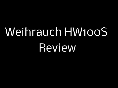 Review of Weihrauch HW100S (2014 model)