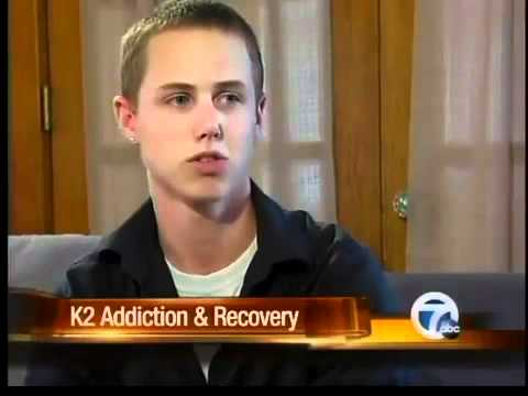 K2 addict talks about his experience with the drug.