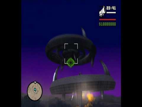 Misteri gta san andrea ufo su ps2