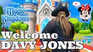 WELCOME DAVY JONES! Disney Magic Kingdoms | Gameplay Walkthrough Ep.279