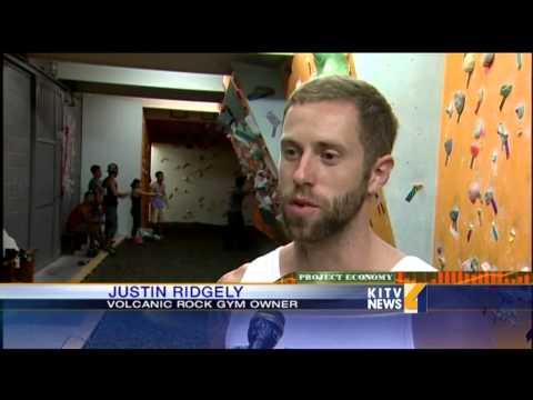 New Rock Climbing Gym Open - Smashpipe News Video