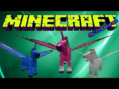 minecraft mo`creatures como hacer el caballo hada.el pegaso.etc