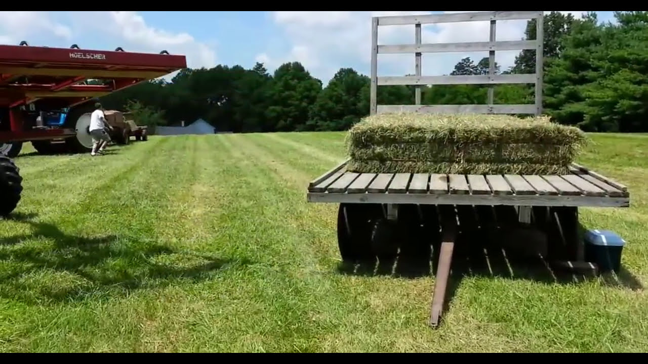 how to make a hay grapple