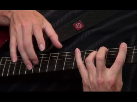 Lesson Guitar - 8 Finger Tapping Exercises