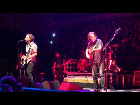 Pearl Jam Missoula Montana September 30th, 2012 Opening Song