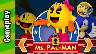 Sonic Dash - Ms. Pac-Man Gameplay!
