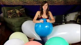 Balloon smoke girl Fetish