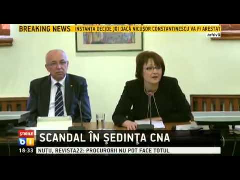 Scandal in sedinta CNA