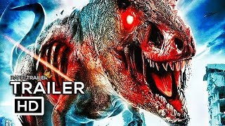 JURASSIC DEAD Official Trailer (2018) Zombie Dinosaur Movie HD
