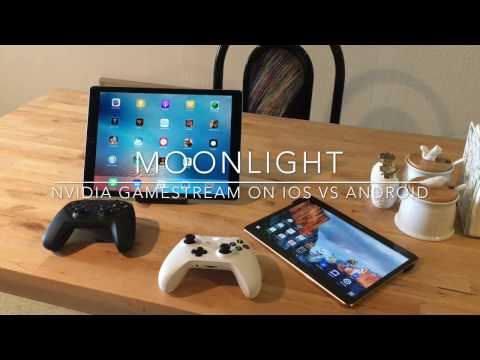 Moonlight Streaming - Nvidia Gamestream on iOS vs Android