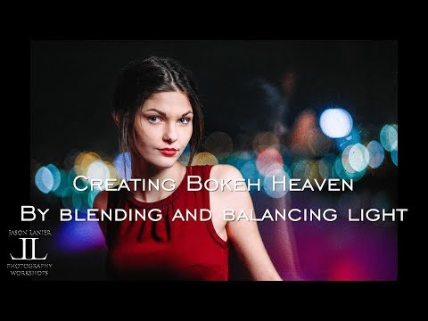 Creating Bokeh Heaven with the Sony A7Riii using Canon lenses- Blending Ambient and Artificial Light