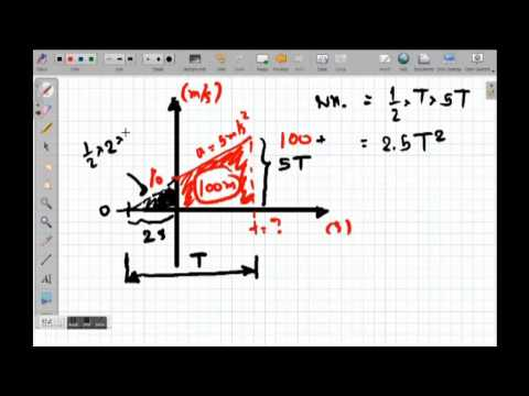 เตรียมสอบฟิสิกส์ - การเคลื่อนที่ในแนวเส้นตรง PART 4
