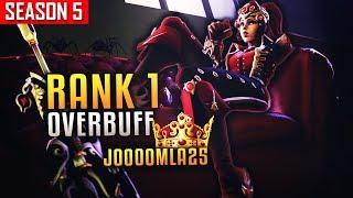 Rank 1 Widowmaker Overbuff ?! J0000MLA25 Better Than Widow King Kephrii? [S5 TOP 500]
