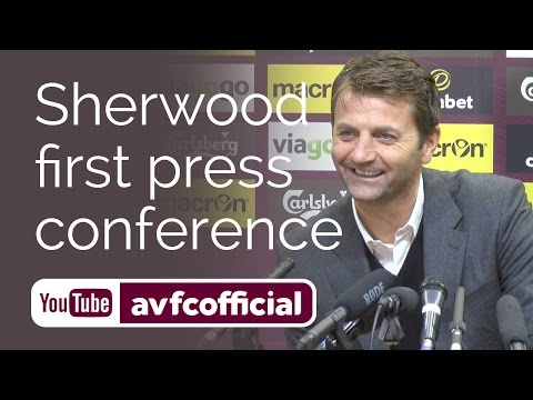 Tim Sherwood's first Villa press conference