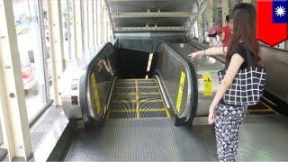 Pervert na lalake, nag-ejaculate sa likod ng babae sa escalator sa Taiwan!