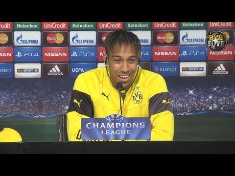 Pressekonferenz: Pierre-Emerick Aubameyang und Jürgen Klopp vor Juventus Turin   BVB total!