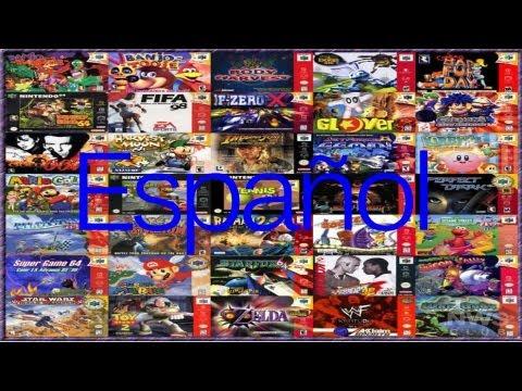 Descargar roms nintendo 64 en español