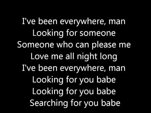 Rihanna - Where Have You Been (lyrics) video