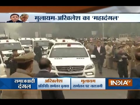 SP Crisis: Akhilesh Yadav Reaches his Residence, Will Hold a Meeting with SP MLAs