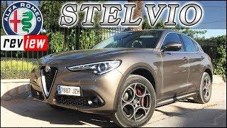 ALFA ROMEO STELVIO   Review en Español / Prueba / Test / SUV   Supercars of Mike