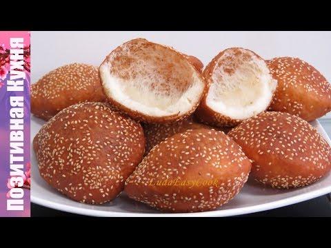 СУПЕР ПОНЧИКИ ВОЗДУШНЫЕ С КУНЖУТОМ Вьетнамские ПОНЧИКИ-ШАРИКИ  - Vietnamese Hollow Donuts  Bánh Tiêu