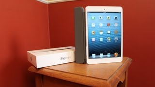 iPad Mini Unboxing and Smart Cover