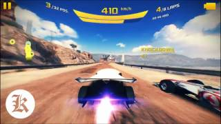 Asphalt 8 | ED Design Torq Vs. McLaren Mercedes MP4-25 32 Players 8 Laps