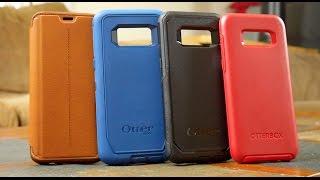 Galaxy S8 - All OtterBox Series Hands On Comparison Defender vs Commuter vs Symmetry vs Strada