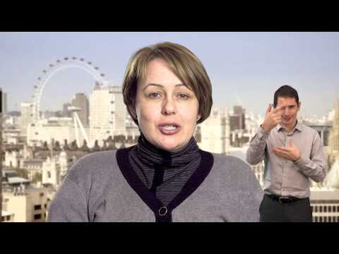 1: Planning accessible travel in London (British Sign Language)