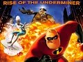 The Incredibles Rise Of The Underminer All Cutscenes Walkthrough Gameplay