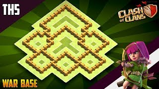 BEST New TH5 WAR/TROPHY Base 2019!! COC Town Hall 5 (TH5) War Base Design - Clash of Clans