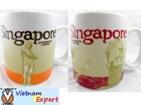 Starbucks Singapore Mug City New Coffee Series Collector Global 16 Oz Icon 16oz