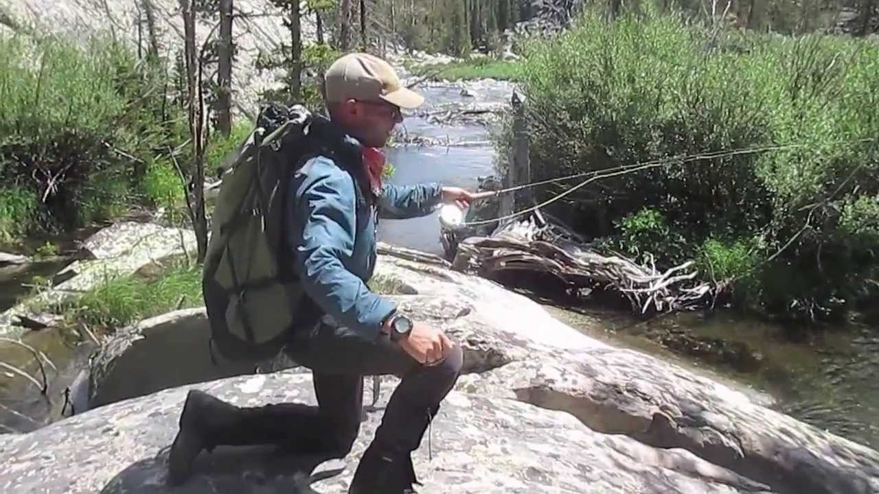 fly fishing in the wind river range youtube
