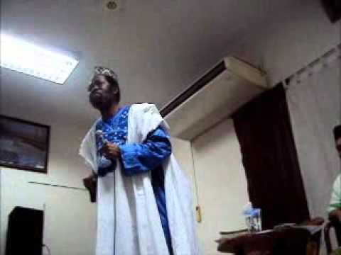 Shaykh Ahmed Tijani Ben Omar - Ihsan: Worship Allah As If You See Him