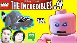 Lego Incredibles 4 Jack Jack vs Raccoon HobbyKidsGaming