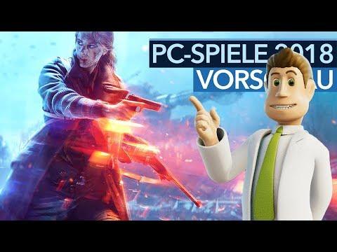 PC-Spiele 2018 - Spannende Game-Releases bis Weihnachten