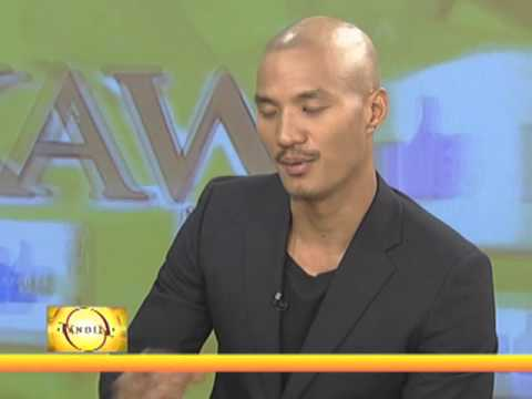 Supermodel Paolo Roldan proud of Filipino roots