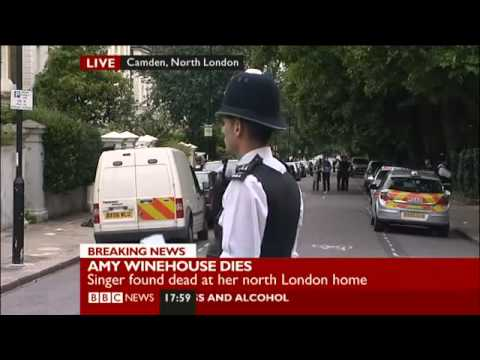 BBC News - Amy Winehouse Found Dead In Her Home - 23/7/2011 - RIP